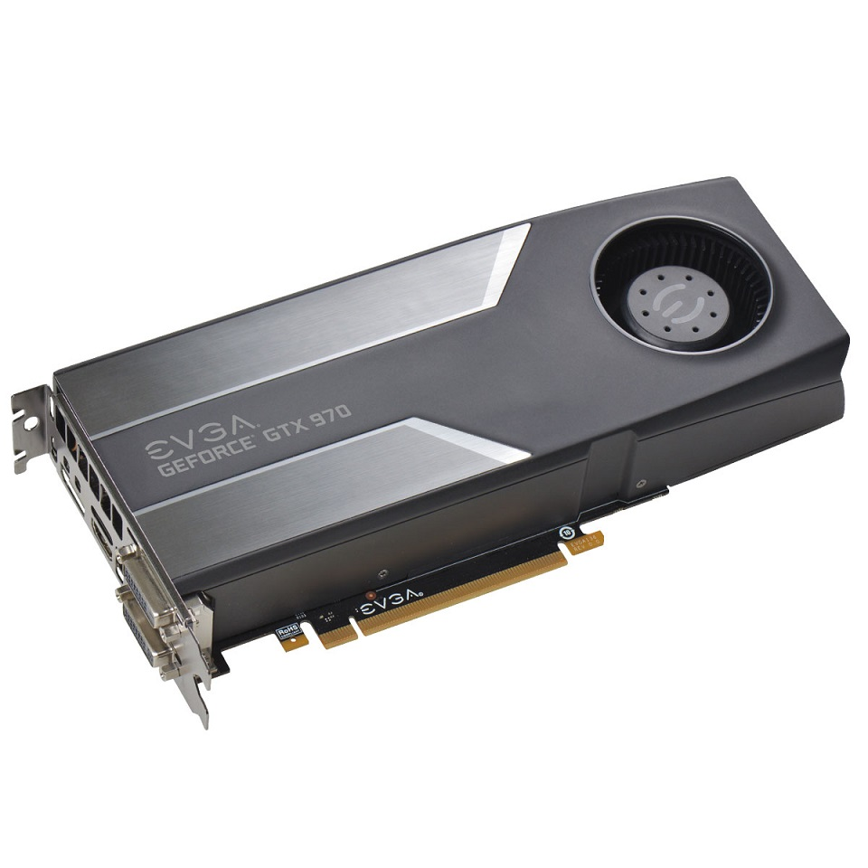 Placa de Video GeForce GTX970 4GB DDR5 04G-P4-1970-KR - EVGA
