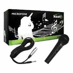 Microfone com fio KM-58 Preto - Kuati