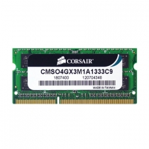 Memoria de Notebook 4GB CL9 1333Mhz DDR3 CMSO4GX3M1A1333C9 - Corsair
