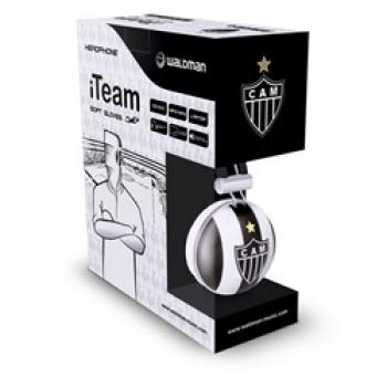 Fone de Ouvido Soft Gloves Atletico Mineiro - SG-10/ATM - Waldman -
