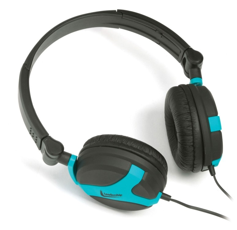Headphone colores azul 2771 - Leadership