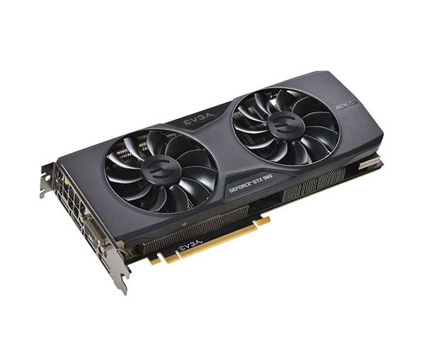 Placa de Vídeo Geforce GTX980 4GB SC ACX2.0 DDR5 256Bits 04G-P4-2983-KR - EVGA