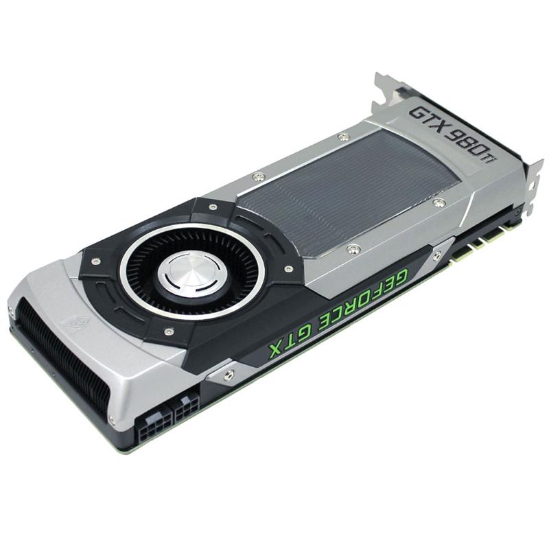 Placa de Vídeo Geforce GTX980 TI SuperClock 384Bit 6GB GDDR5 06G-P4-4992-KR - EVGA