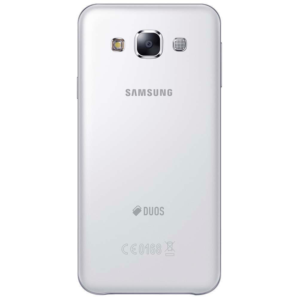 Smartphone Galaxy E5 Duos E500M, Quad Core, Android 4.4, Tela HD 5, 16GB, 8MP, 4G, Dual Chip. Branco - Samsung