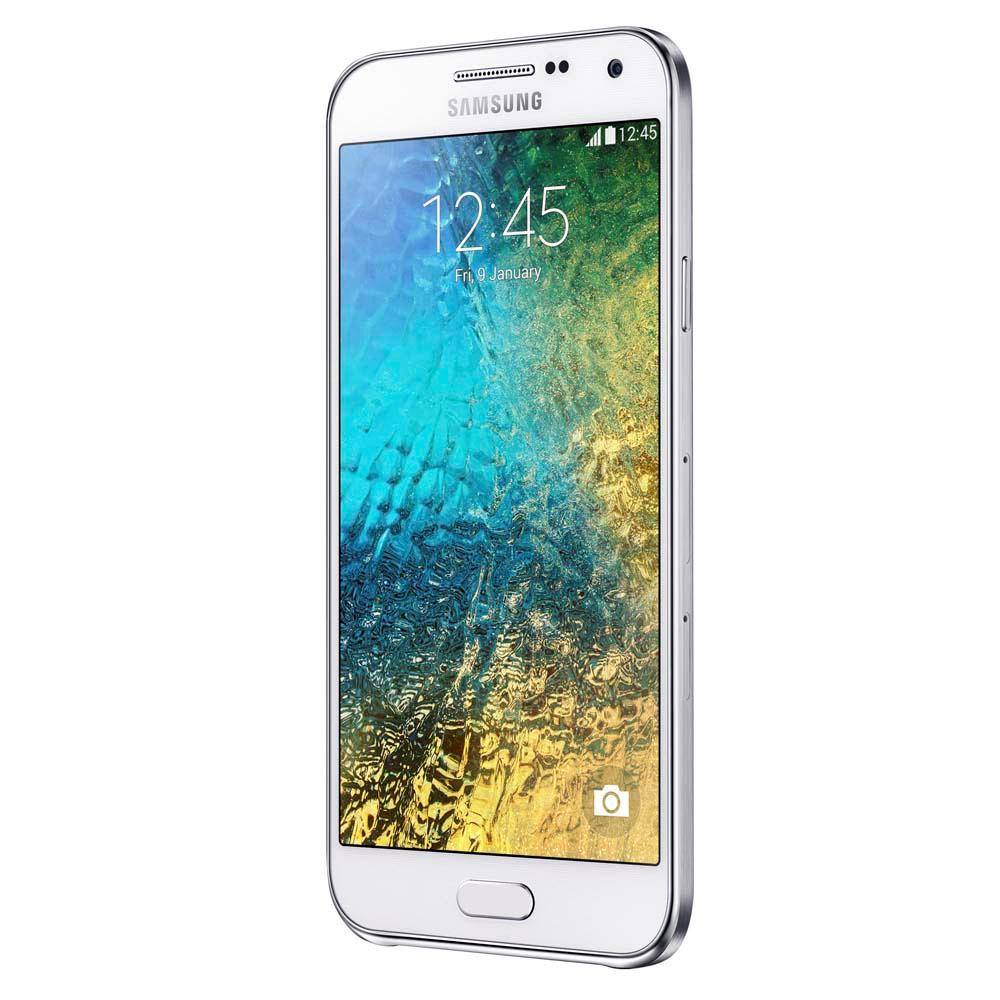 Smartphone Galaxy E5 Duos E500M, Quad Core, Android 4.4, Tela HD 5, 16GB, 8MP, 4G, Dual Chip. Branco - Samsung