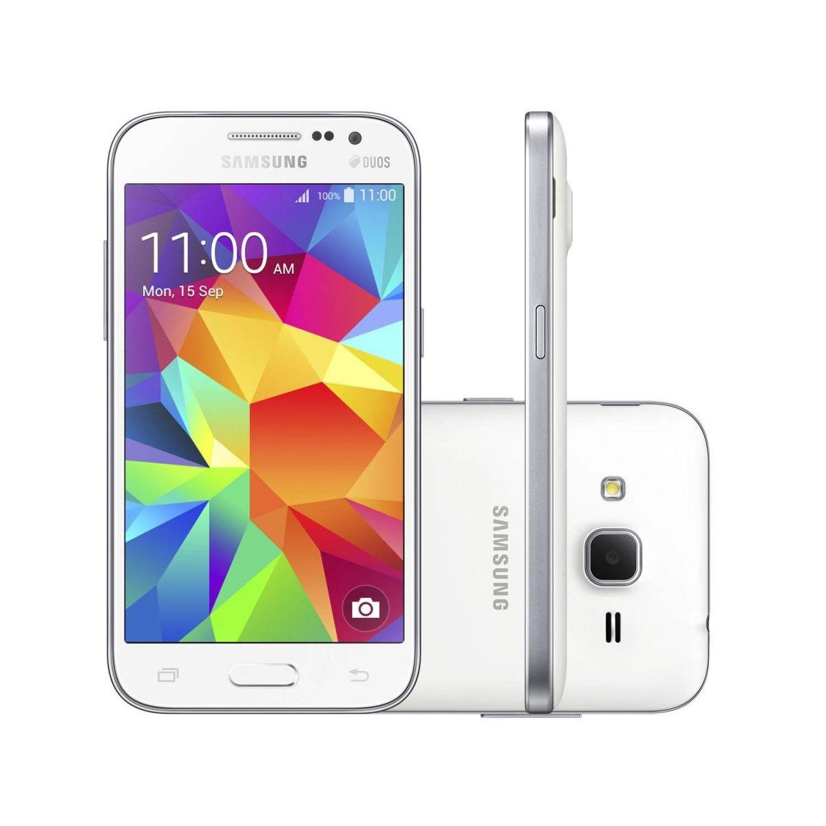 Smartphone Samsung Galaxy Win 2 Duos TV SM-G360BT, Android 4.4, Tela 4.5, 8GB, Câm 5MP, 4G, Branco - Samsung