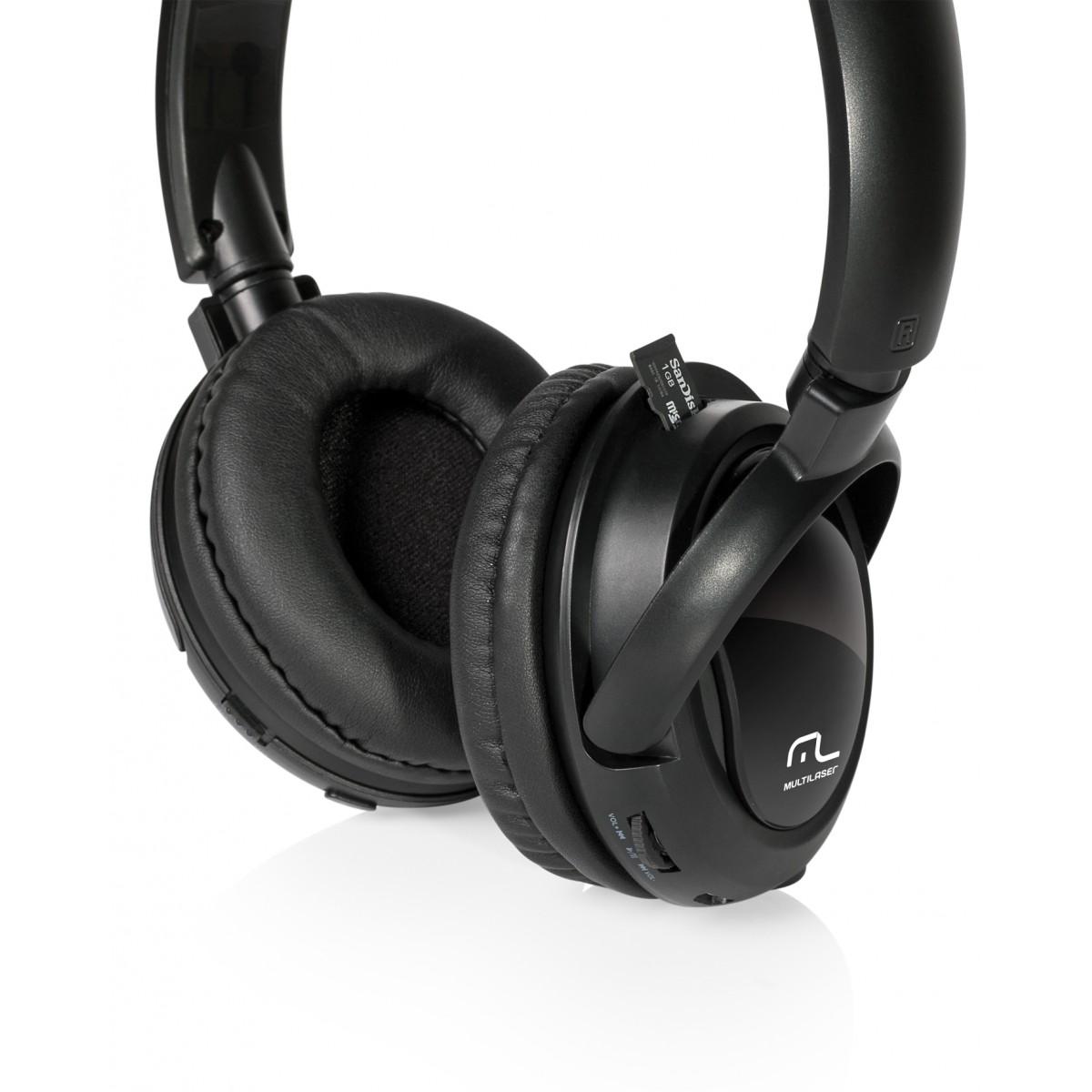 Fone de Ouvido Bluetooth MP3 PM PH095 - Multilaser