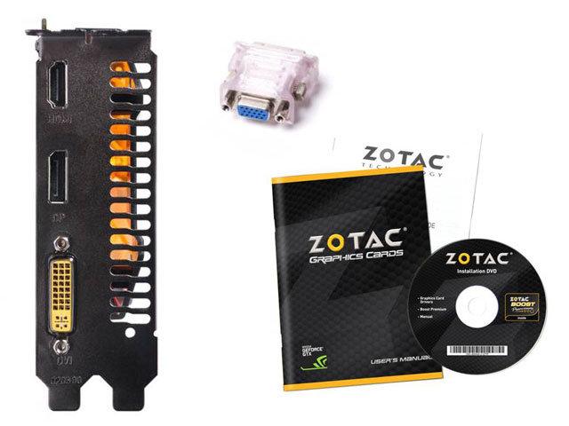 Placa de Vídeo Geforce GTX750 1GB DDR5 128Bit ZT-70706-10M - Zotac