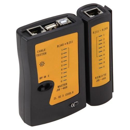 Testador de Cabo de Rede, Telefone e USB RJ45 TT0006 - Lotus
