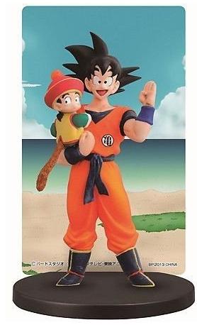 Goku Gohan Ichiban Kuji Dragon Ball World Card Stand Figure