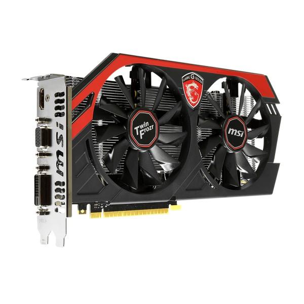 Placa de Vídeo Geforce GTX750 Twin Frozr 2GB DDR5 128Bit N750 TF 2GD5/OC - MSI