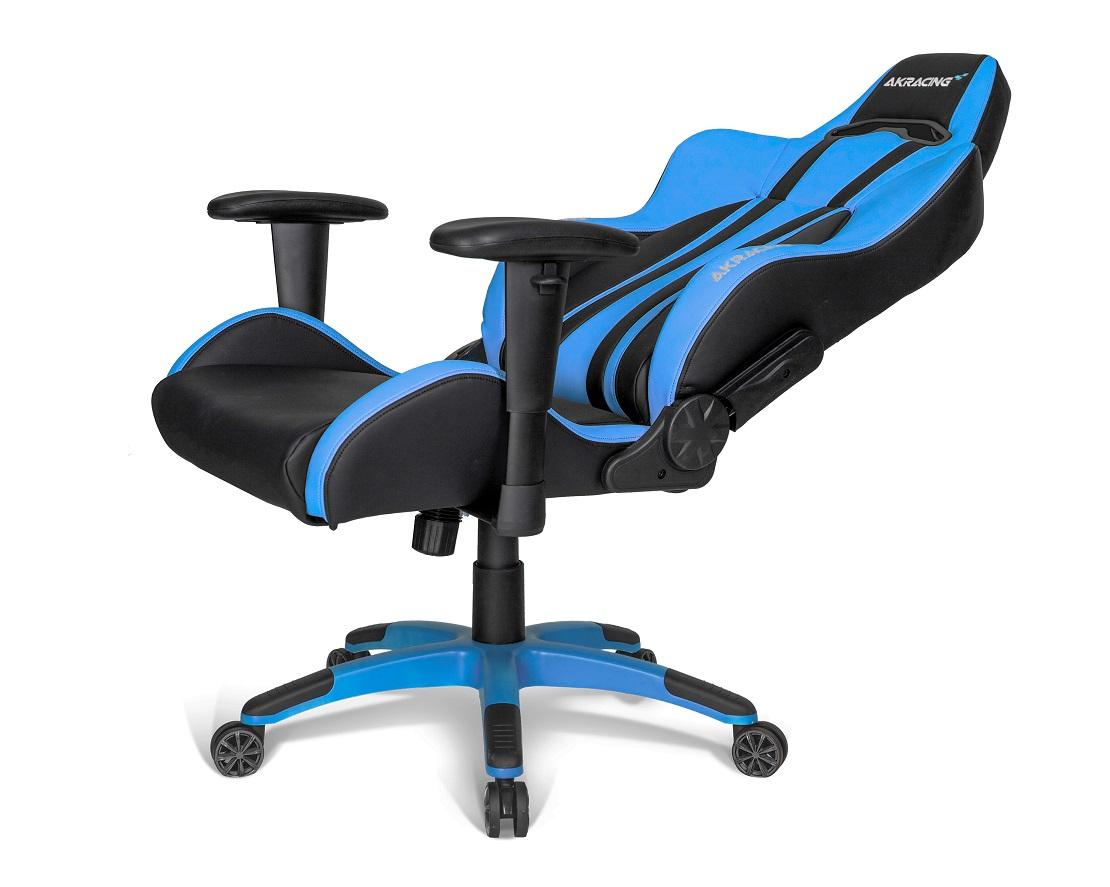 Cadeira AKRacing Premium V2 Black Blue 10216-0 - AKRacing