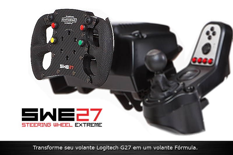 Volante SWE 27 (v.2) Add-On para Logitech G27 - Stock Car