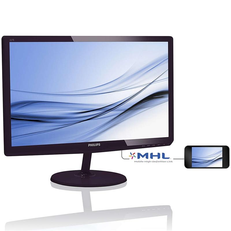 Monitor LED 21,5 Full HD Softblue 227E6EDSD - Philips