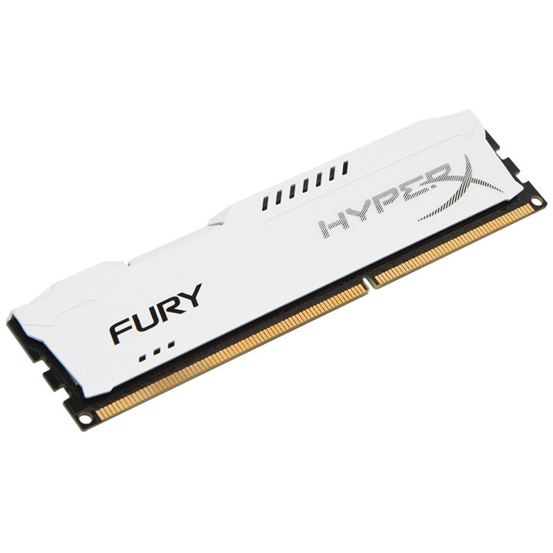 Memória HyperX Fury 4GB 1333Mhz DDR3 CL9 Dim White HX313C9FW/4 - Kingston