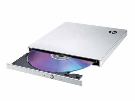 Gravadora de DVD Externa Ultra Slim DVD600S - HP