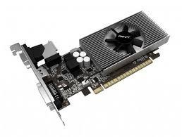 Placa de Vídeo Geforce GT730 2GB DDR3 128Bits VCGGT7302D3LXPB - PNY