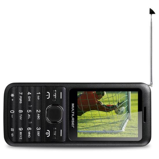 Celular Dual Chip View Bluetooh Com FM, TV P3266 - Multilaser