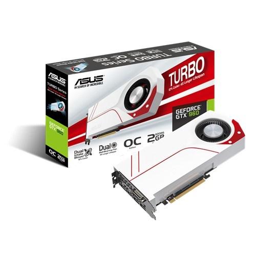 Placa de Vídeo Geforce GTX960 2GB DDR5 128Bit TURBO-GTX960-OC-2GD5 - Asus
