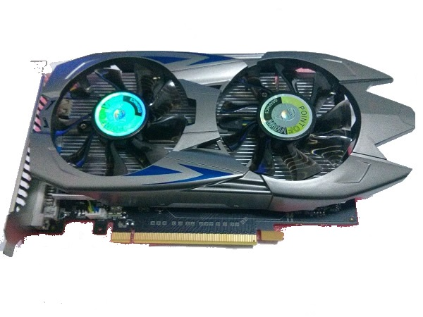 Placa de Vídeo GeForce GTX960 Trooper 2GB DDR5 128Bit VGA-960-A2-2048 - Point Of View
