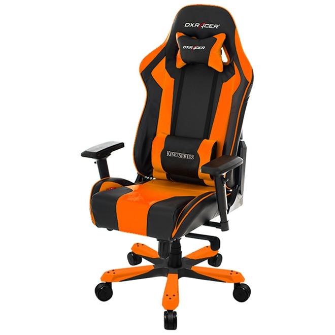 Cadeira K-Series OH/KF06/NO Preto/Laranja - DXRacer