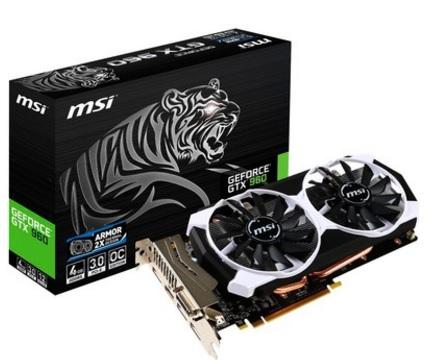Placa de Vídeo Geforce GTX960 4GD5T OC 4GB DDR5 128Bits - MSI