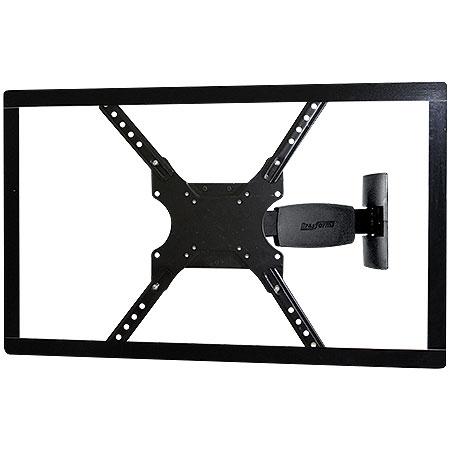 Suporte TV Led/LCD 23 a 55 SBRP135 Braço Articulado Preto - Brasforma