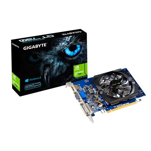 Placa de Vídeo Geforce GT730 1GB DDR3 GV-N730D3-1GI - Gigabyte