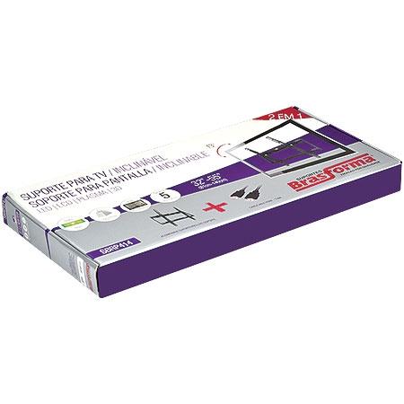 Suporte Inclinável Slim TV 32 a 55 SBRP414 - Brasforma