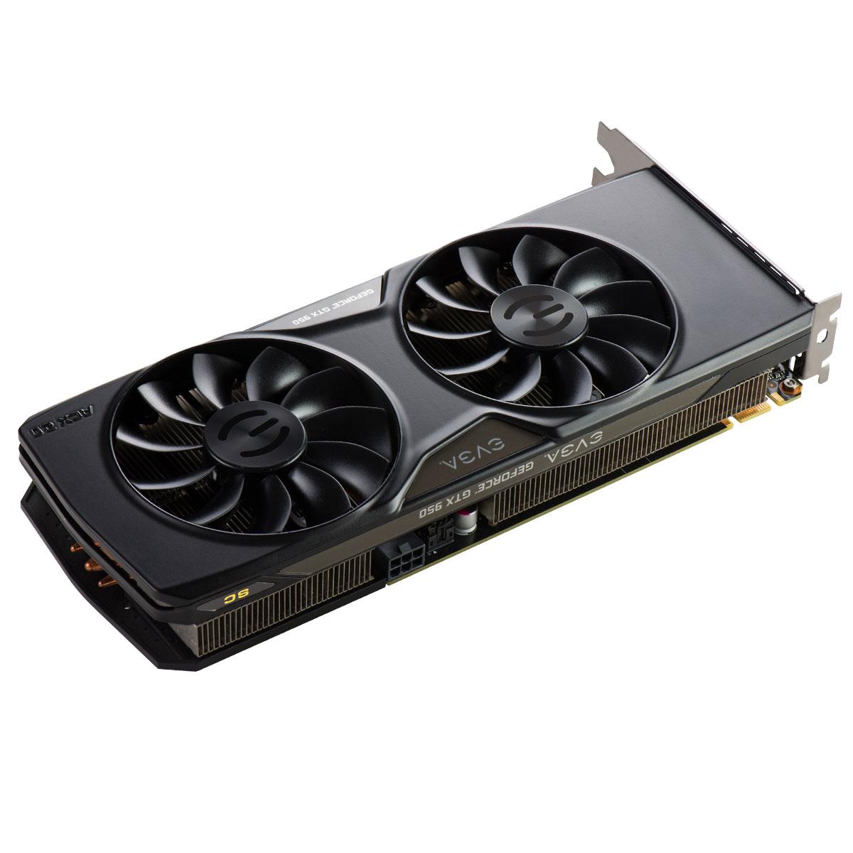 Placa de Vídeo Geforce GTX950 2GB SC Gaming ACX2.0 DDR5 128Bits 02G-P4-2956-KR - EVGA