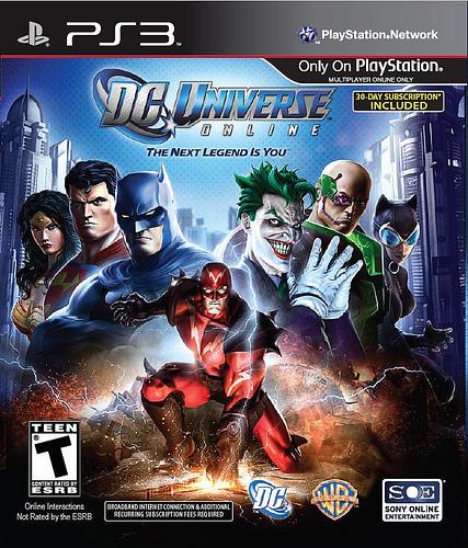 Jogo DC Universe para PS3 - Sony