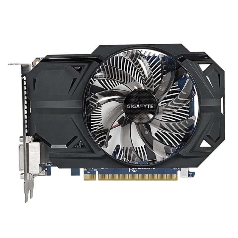 Placa de Vídeo Geforce GTX750 TI 1GB OC DDR5 128Bits GV-N75TOC-1GI - Gigabyte