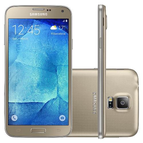 Smartphone Galaxy S5 New Edition SM-G903M/DS Tela 5.1, 4G Dual Chip Dourado - Samsung