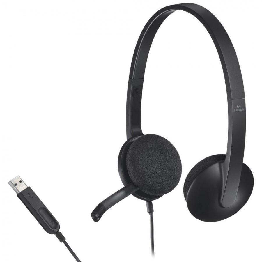 Headset USB H340 Black - Logitech