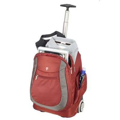 Mochila para Viagem com Rodinhas PJR-664PR Vermelha - Sumdex