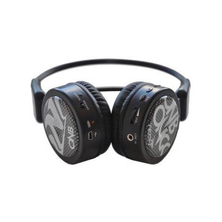 Fone Multimidia SD MP3 FM Sem Fio Branco ONB-M80B - Onbongo