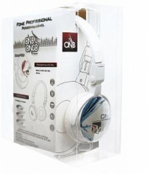 Fone Profissional Personalizavel Preto NB-F90B (COR BRANCO) - Onbongo