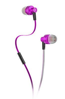 Fone de Ouvido Intra Auricular Pulse Rosa/Branco PH155 - Multilaser