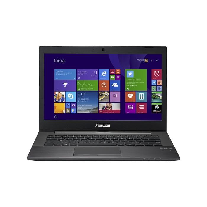 Notebook Ultrafino PU401LA-WO073P Intel Core i3 Memória 6GB HD 500GB LED 14 Windows 8 Pro Preto - Asus