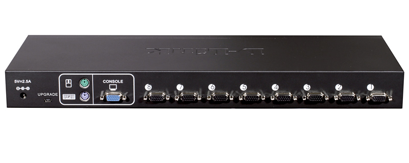 Switch KVM Rack 8 Portas PS2/USB com 04 Cabos KVM-440/Z - Dlink
