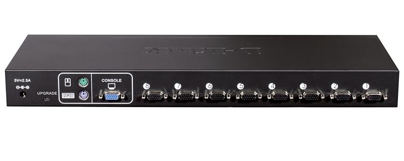 Switch KVM Rack 8 Portas PS2/USB com 04 Cabos KVM-440/Z - Dlink