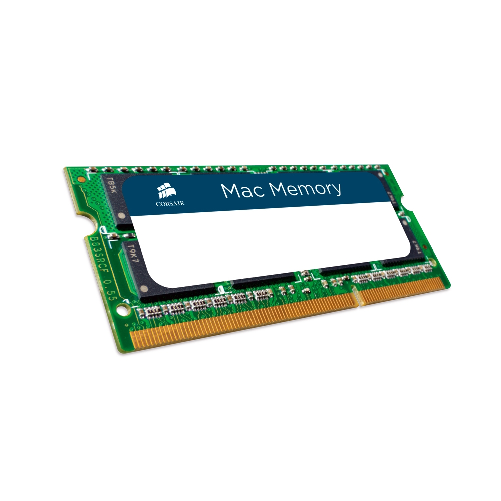 Memória para Notebook MAC 8GB 1600Mhz DDR3 CL11 CMSA8GX3M1A1600C11 - Corsair