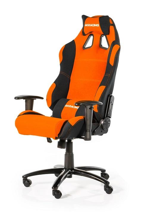 Cadeira AKRacing Prime Preto/Laranja AK-K7018-BO - AKRacing