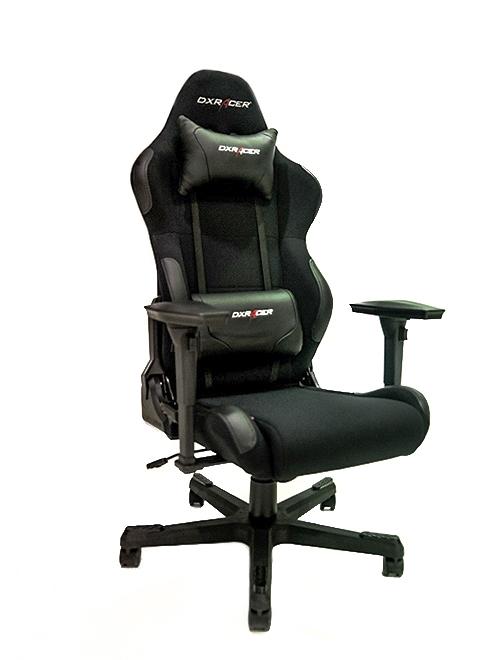 Cadeira R-Series OH/RC01/N Preta (Em tecido) - DXRacer