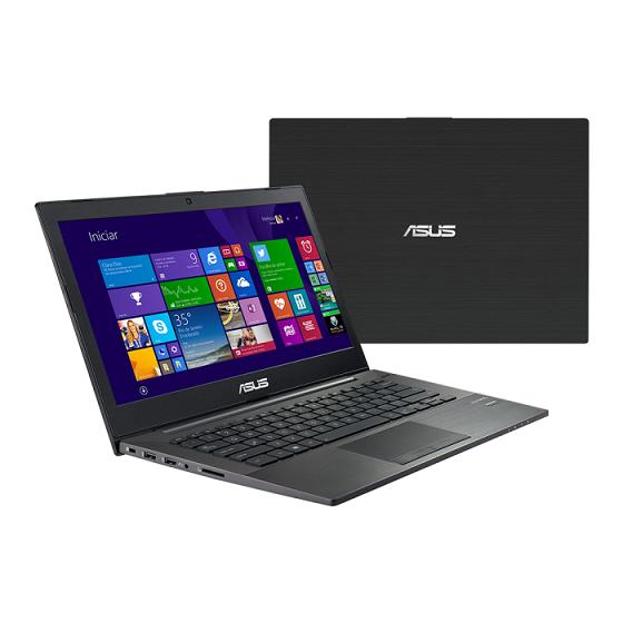 Notebook PU401LA-WO075P Intel Core i7 6GB HD 500GB LED 14 Windows 8 Pro Preto - Asus