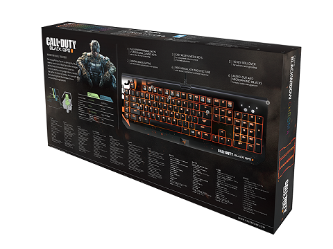 Teclado Mecânico Blackwidow Chroma Call of Duty: Black Ops III RZ03-01221800-R3M1 - Razer