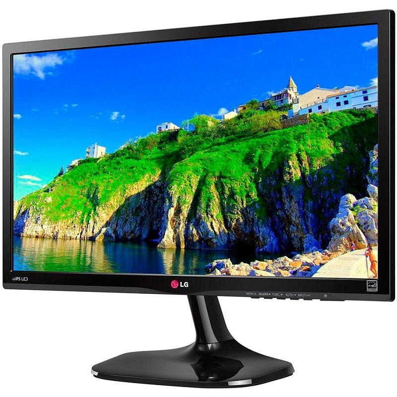 Monitor Led 23 IPS D-Sub, HDMI, Full HD 23MP55HQ Preto - LG