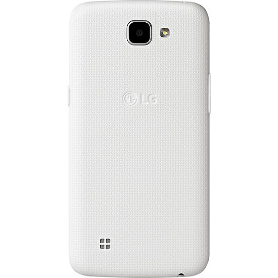 Smartphone K4 K130F, Android 5.1, Tela 4,5, 8GB, 5MP, 4G, Dual Chip, Branco - LG