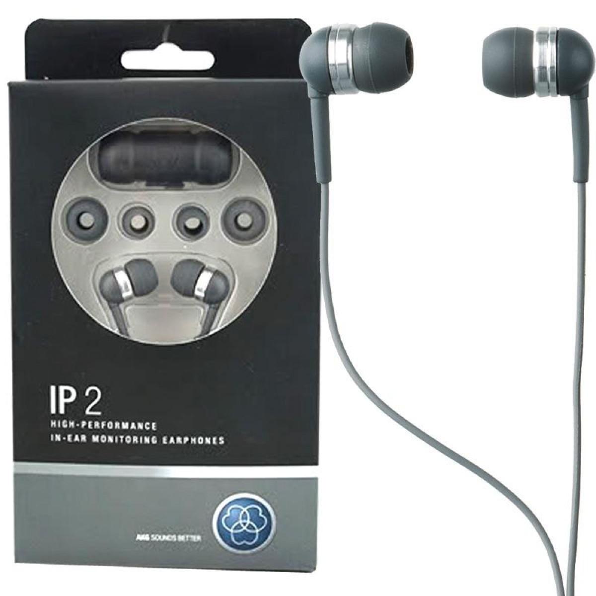 Fone de Ouvido Auricular IP2 Earphone - AKG