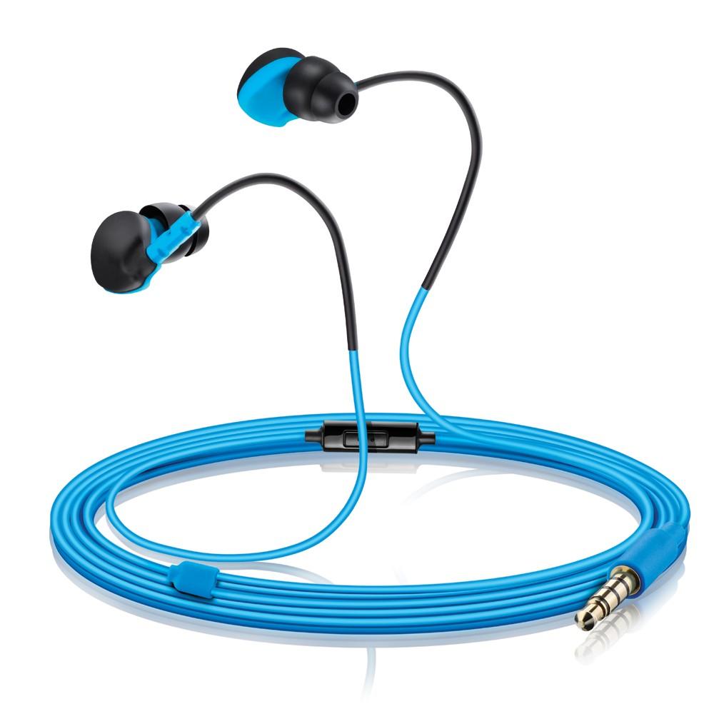 Fone de Ouvido Intra Auricular Sport Azul PH132 - Multilaser